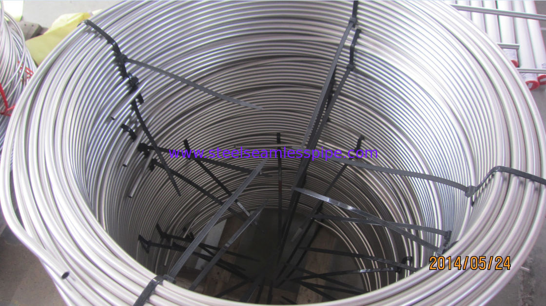 Stainless Steel Coil Tube ,ASTM A249 / TP316L,TP316Ti ,TP321,TP347H,TP904L, Bright Annealed , Coil