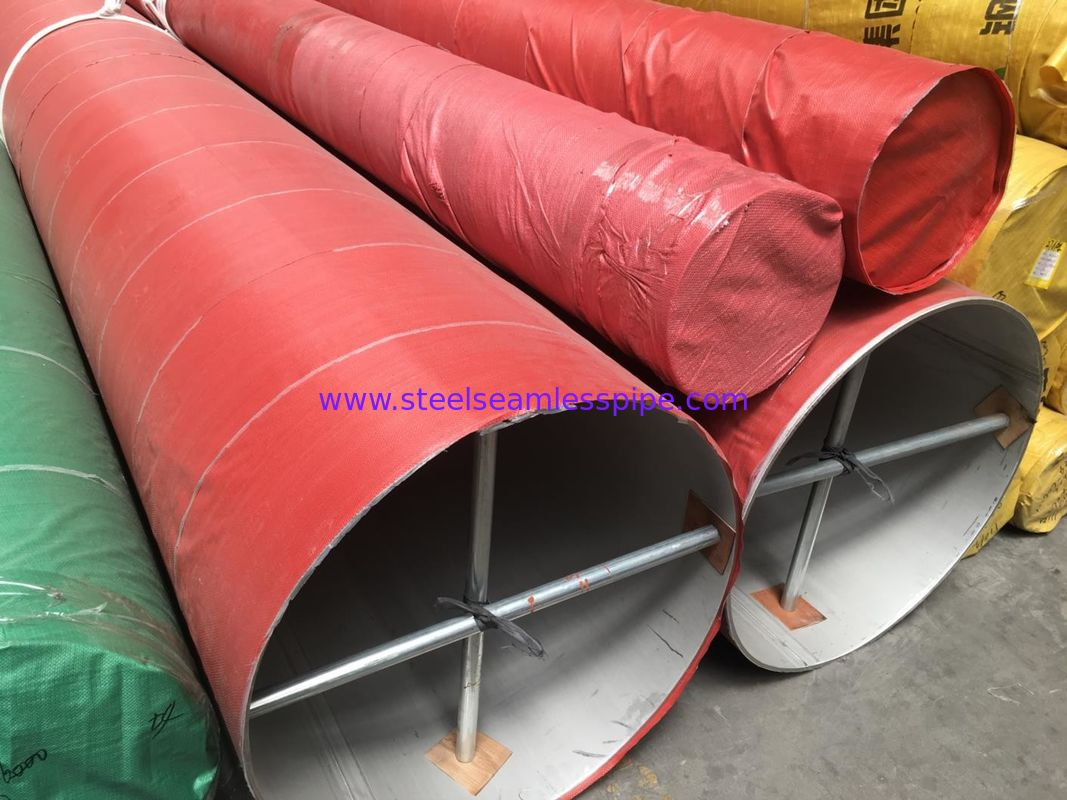 High Strength Welded Stainless Steel Seamless Pipe For Food Processing Equipment